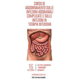 Corso di aggiornamento sulle infezioni addominali complicate e sulle infezioni in terapia intensiva <br>16 Settembre 2016