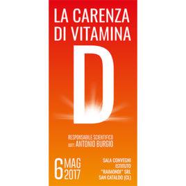 La carenza di Vitamina D <br>6 Maggio 2017