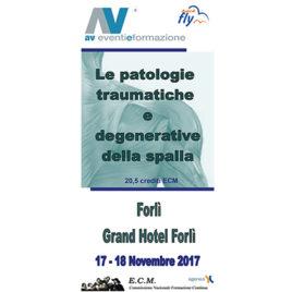 Le Patologie traumatiche e degenerative della spalla <br>17-18 Novembre 2017