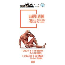Corso di Manipolazione Fasciale ®: Metodo L. Stecco I° e II° Livello <br>16 Febbraio 2018