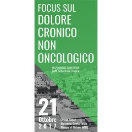 Focus sul dolore cronico non oncologico <br>21 ottobre 2017
