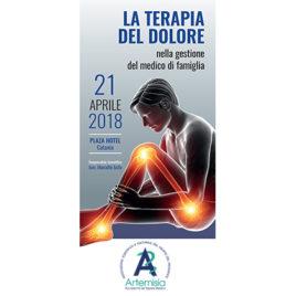 La terapia del dolore nella gestione del Medico di famiglia <br>21 Aprile 2018