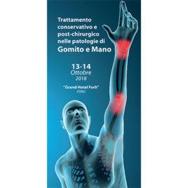 Trattamento conservativo e post-chirurgico nelle patologie di gomito-mano <br>13-14 Ottobre 2018