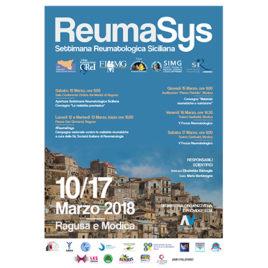 Reumasys – Settimana Reumatologica Siciliana <br>10-17 Marzo 2018