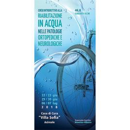 Riabilitazione in acqua nelle patologie ortopediche e neurologiche <br>22/23-29/30 Giugno – 6/7 Luglio 2018
