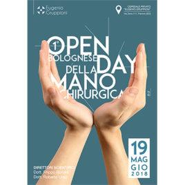 1° Open Day Bolognese della mano chirurgica <br>19 Maggio 2018