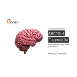 Diagnosi e Terapeuticità – Digital Humanities e Neuroscienze in Psicoterapia <br>1/2 Marzo 2019
