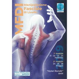 Manipolazione fasciale III livello <br>Febbraio/Maggio 2019