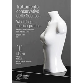 Trattamento conservativo delle Scoliosi: Workshop teorico-pratico <br>10 Marzo 2019
