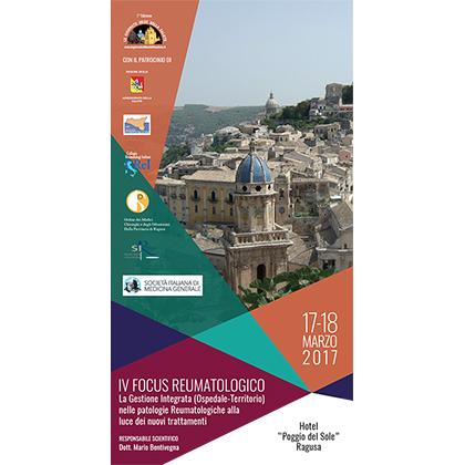 Brochure IV Focus Reumatologico