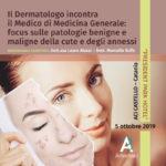 Il Dermatologo incontra il Medico di Medicina Generale: focus sulle patologie benigne e maligne della cute e degli annessi