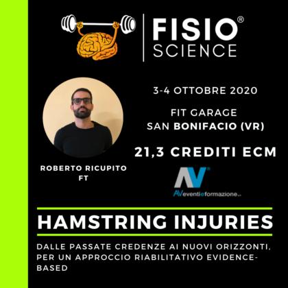 Hamstring injuries – dalle passate credenze ai nuovi orizzonti, per un approccio riabilitativo evidence-based