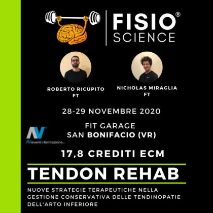 Tendon Rehab – Nuove strategie terapeutiche nella gestione conservativa delle tendinopatie dell'arto inferiore