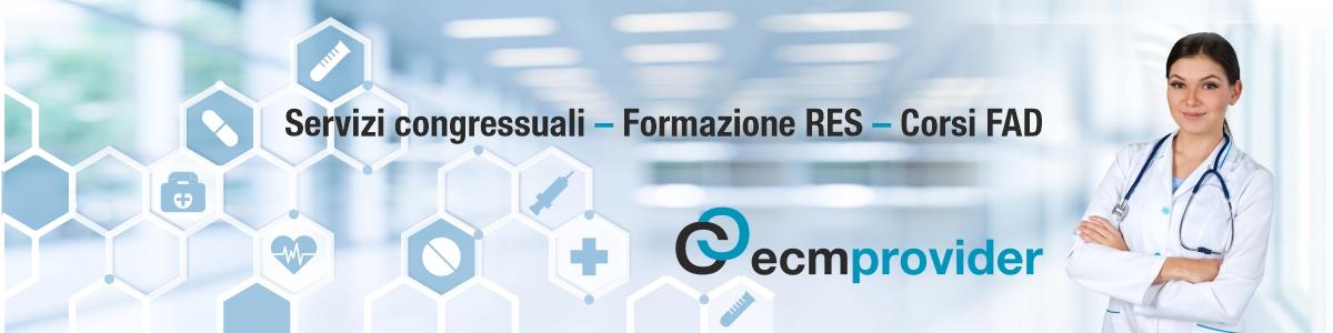 ecm provider - corsi di formazione sanitaria - FAD - RES e Blended