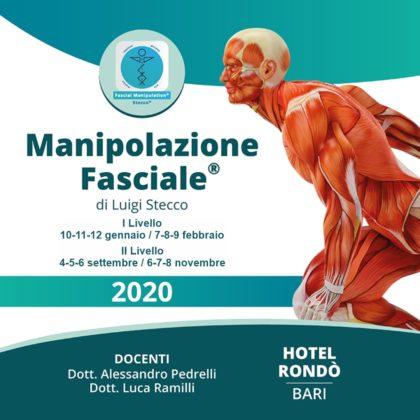 Manipolazione fasciale I livello – II livello – anatomia e fisiologia del dolore con esercitazioni