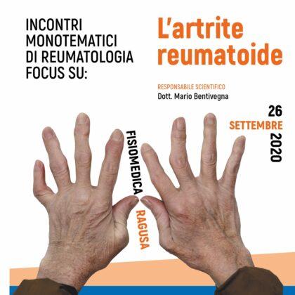 Incontri monotematici di reumatologia. Focus su l'artrite reumatoide