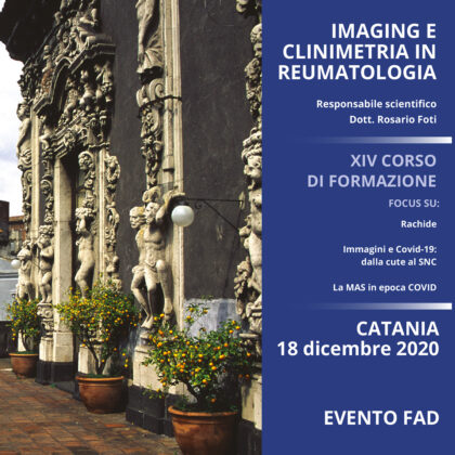 Imaging e clinimetria in reumatologia