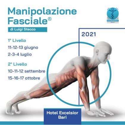 Manipolazione fasciale I livello – II livello 2021 – anatomia e fisiologia del dolore con esercitazioni